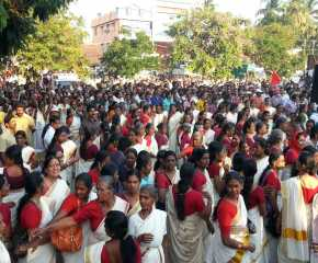 Women at the Palakkad Meeting