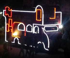 Illuminated Southern Jatha Vehicle