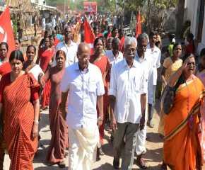 The Jatha Reaches Tumkur