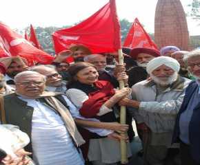 At the Inaguration of the Northern Jatha