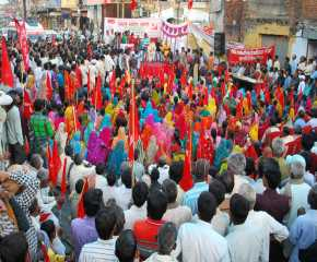 A section of the Crowd At Koderma