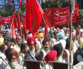 Section of Crowd at Ludhiana