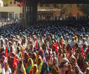A Section of Crowd At Kalwan Meeting