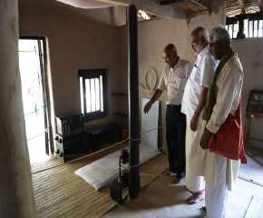 Jatha Leaders at the Wardha Ashram