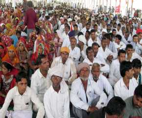 A View of the Meeting at Gharsana