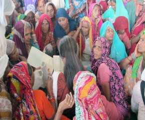 Women Meeting Brinda Karat