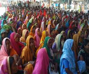 Women at the Prakasha Meeting