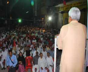 Prakash Karat Addressing the Varanasi Meeting