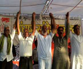 Southern & Western Jatha Leaders on Stage at Bhopal