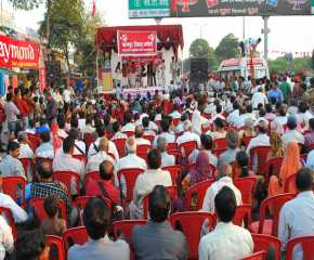 People at the Kanpur Meeting