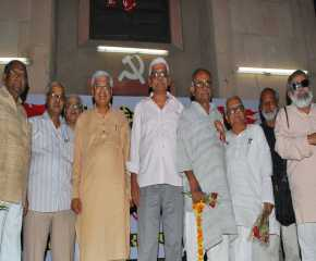 Conclusion of the Eastern Jatha At AKG Bhawan, Delhi