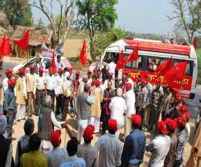 The Jatha Being Received at Etawah