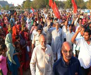 Jatha Leaders Arrive at Gwalior