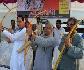 Jatha Leaders at Gwalior