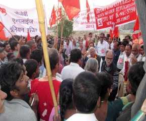 Jatha Received at Mahipalpur
