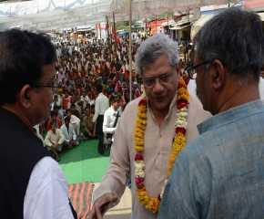 Jatha Leaders at Kailaras, Morena, MP