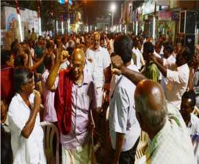 The Jatha Reaches Coimbatore