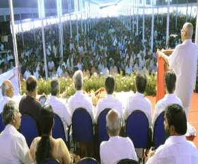 SRP Addresses the Kottayam Meeting
