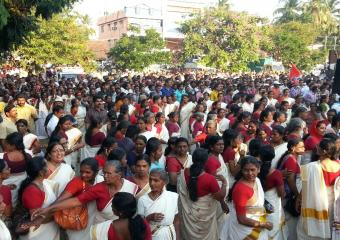 Women at the Palakkad Meeting