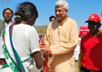 Reception at Johna, Jharkhand