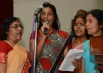 Song Squad Singing Songs at Nagpur