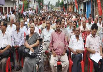 Agartala Meeting -- Save Democracy in Bengal