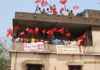 Manidaha local committee party office reopens.