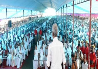 Srinivasa Rao Addressing meeting At Alappuzha