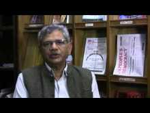 Yechury released campaign booklets on corruption and rising inequality