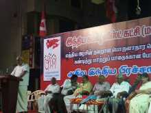 Baby Addressing the Meeting at Coimbatore