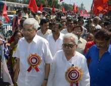 Prakash & Biman At Inauguration of Eastern Jatha