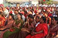 Section of Crowd at Bagepally