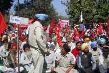 A section of the crowd at Ludhiana Meeting