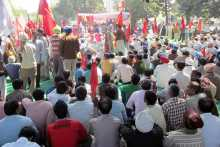 View of Meeting at Ludhiana