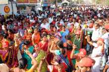 To the Victory Rally in Agartala