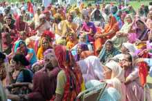 A Section of the Crowd at Sirsa