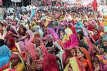 Women At the Hanumangarh Meeting