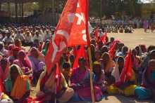 A Section of Women at the Kalwan Meeting