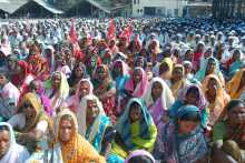 A view of the Crowd at the Kalwan Meeting