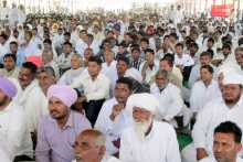 A section of the crowd at Gharsana