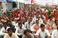 Crowd at Gohad Meeting