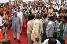 Jatha Leaders arrive at Gohad