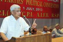 Prakash Addressing the Left Convention on July 1, 2013