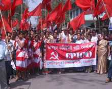 Com. Khemraj Chetry filed nomination from Tejpur constituency in Assam