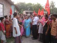 Dr. Abul Hasnat campaigning in Diamond Harbour.