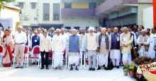 Samar Mukheree at the 18th Bengal State Conference