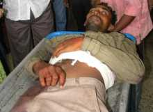 Body of Sheikh Hasmat Killed by TMC Goons on July 15