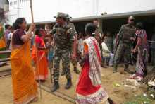 Women Resisting Booth Capturing in Salepur in Arambagh