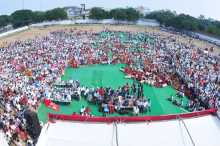 View of Public Meeting on Tribal Issues, Khammam, 6/11/2013