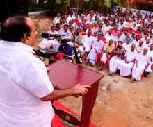 Kodiyeri Balakrishnan, CPI(M) Polit Bureau Member, campaigning in Kozhikode